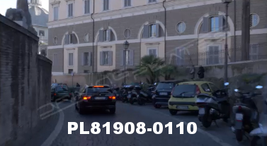 Vimeo clip HD & 4k Driving Plates Rome, Italy PL81908-0110
