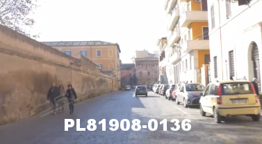 Vimeo clip HD & 4k Driving Plates Rome, Italy PL81908-0136