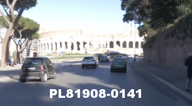 Vimeo clip HD & 4k Driving Plates Rome, Italy PL81908-0141