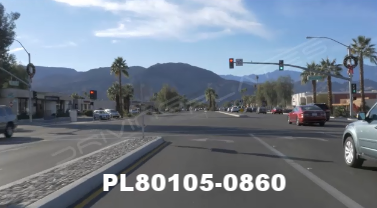 Vimeo clip HD & 4k Driving Plates Palm Springs, CA Day PL80105-0860