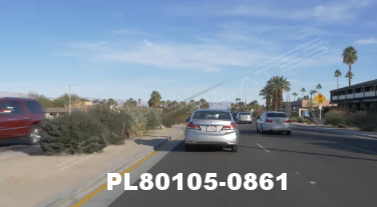 Vimeo clip HD & 4k Driving Plates Palm Springs, CA Day PL80105-0861