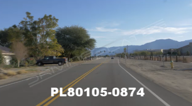 Vimeo clip HD & 4k Driving Plates Palm Springs, CA Day PL80105-0874