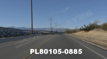 Vimeo clip HD & 4k Driving Plates Palm Springs, CA Day PL80105-0885