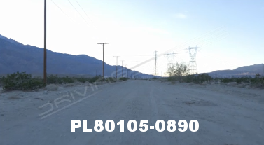 Vimeo clip HD & 4k Driving Plates Palm Springs, CA Day PL80105-0890