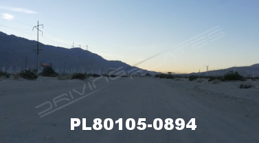 Vimeo clip HD & 4k Driving Plates Palm Springs, CA Day PL80105-0894