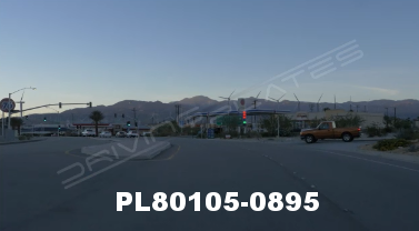 Vimeo clip HD & 4k Driving Plates Palm Springs, CA Day PL80105-0895