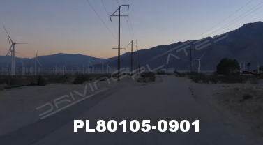 Vimeo clip HD & 4k Driving Plates Palm Springs, CA Day PL80105-0901