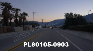 Vimeo clip HD & 4k Driving Plates Palm Springs, CA Day PL80105-0903