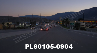 Vimeo clip HD & 4k Driving Plates Palm Springs, CA Day PL80105-0904