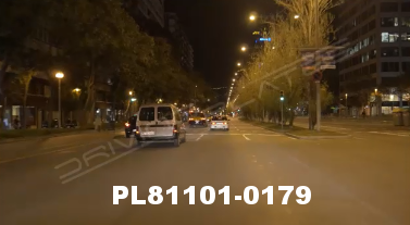 Vimeo clip HD & 4k Driving Plates Barcelona, Spain PL81101-0179