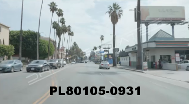 Vimeo clip HD & 4k Driving Plates Los Angeles, CA PL80105-0931