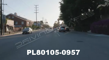 Vimeo clip HD & 4k Driving Plates Studio City, CA PL80105-0957