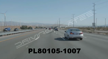 Vimeo clip HD & 4k Driving Plates Palm Springs, CA Day PL80105-1007