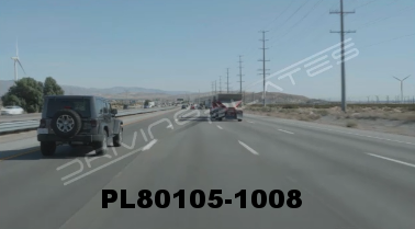 Vimeo clip HD & 4k Driving Plates Palm Springs, CA Day PL80105-1008