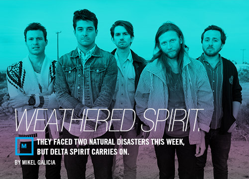 Interview with Brooklyn-based band Delta Spirit before a stop in Dallas.