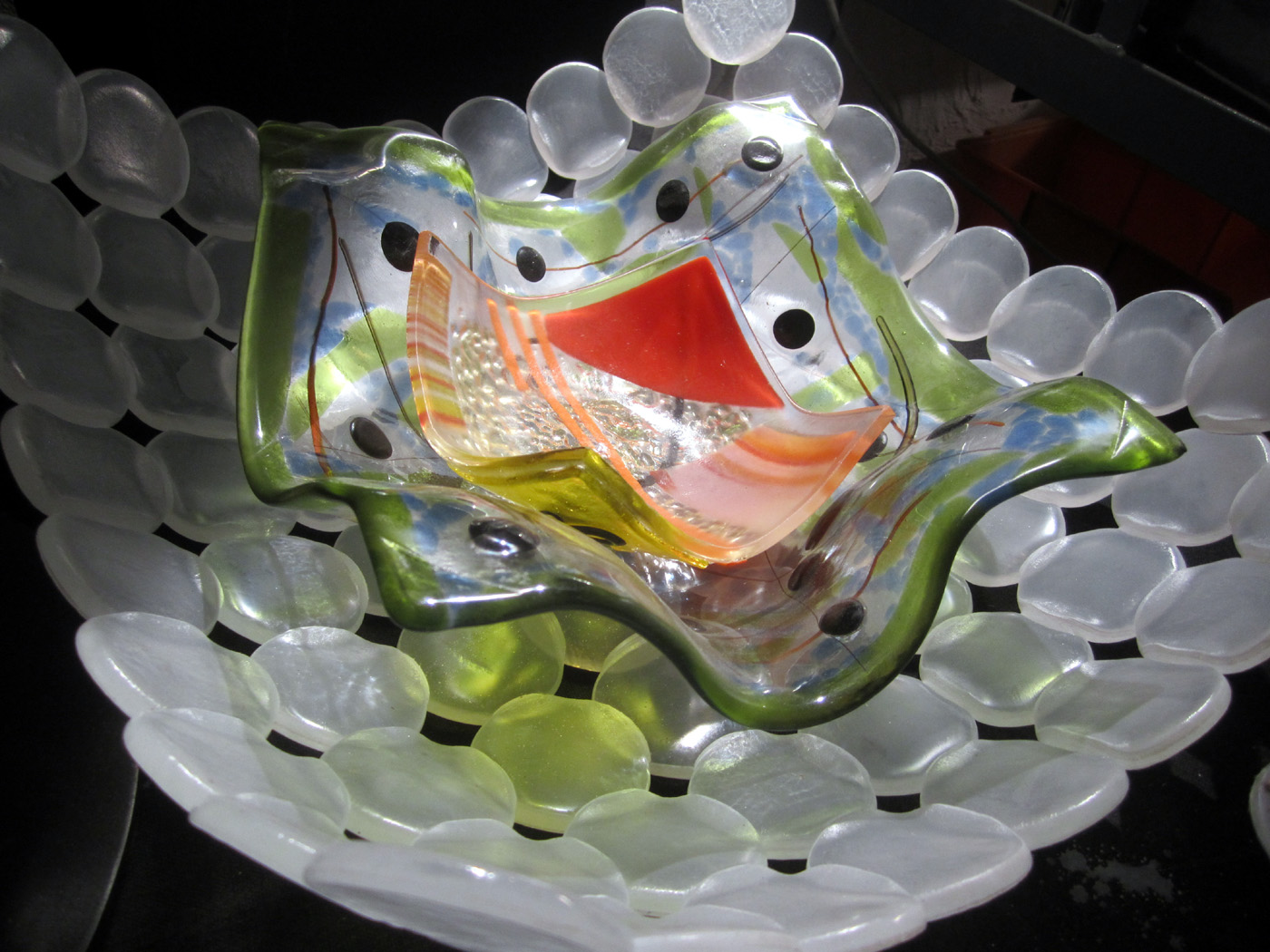 Glass B optic bowl with friends.jpg