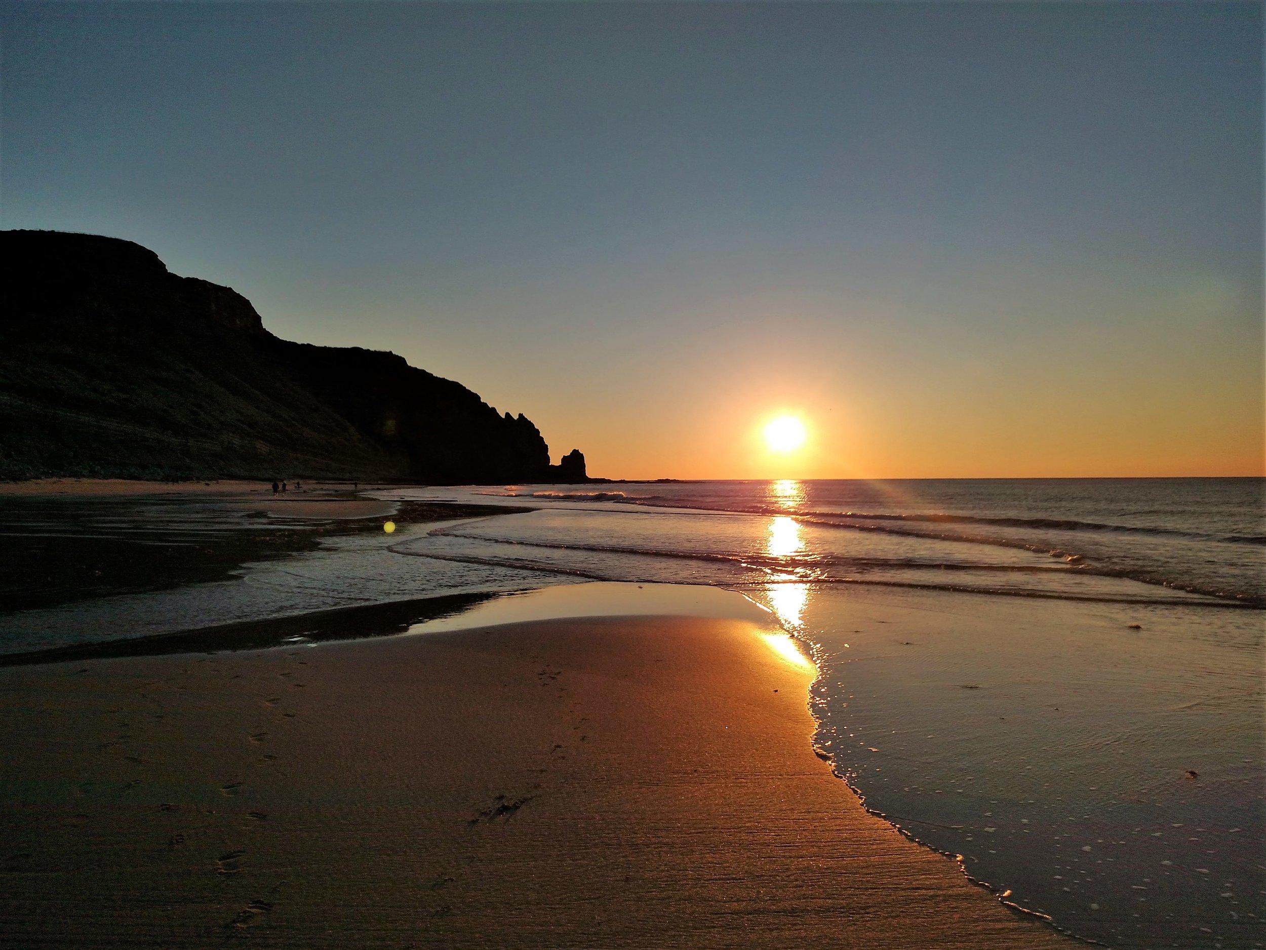 Portugal Seaside Sunrise