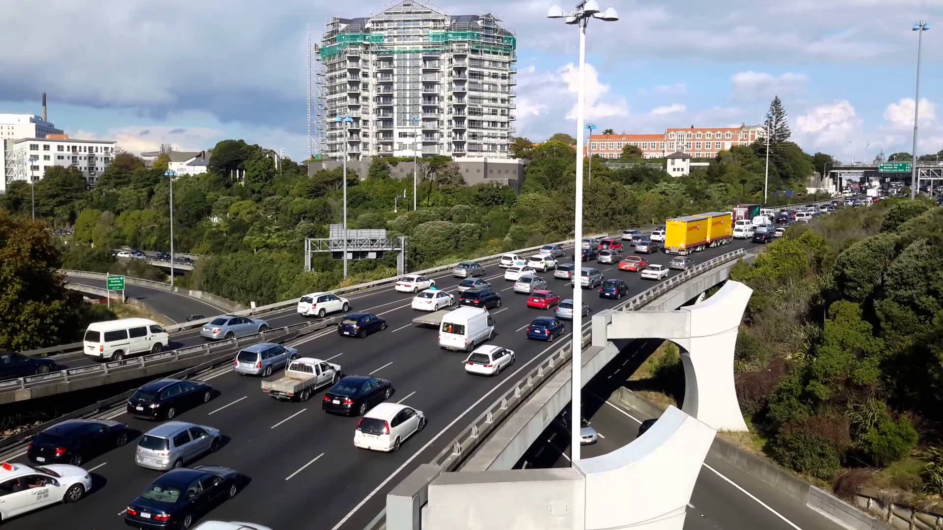 Auckland traffic   Image:  Youtube