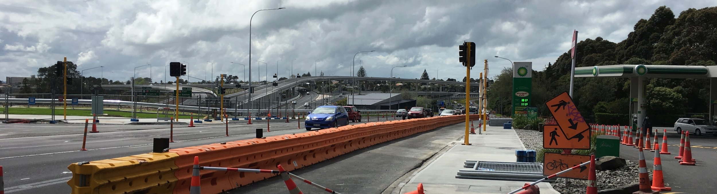 Last of the roadwork at the Waterview interchange?