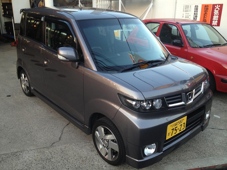 K-cars, bilar med max 660 cc stora motorer, är poppis i Japan. Här en sådan från Honda.