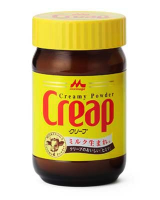 Vad är det som kryper i kaffekoppen? Jo, gräddersättningspulvret CREAP.