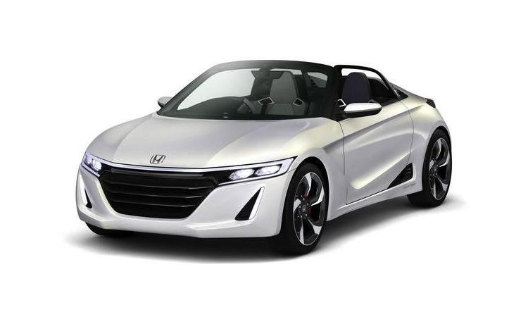 Ny mini-sportbil från Honda som börjar tillverkas nästa år - S660.