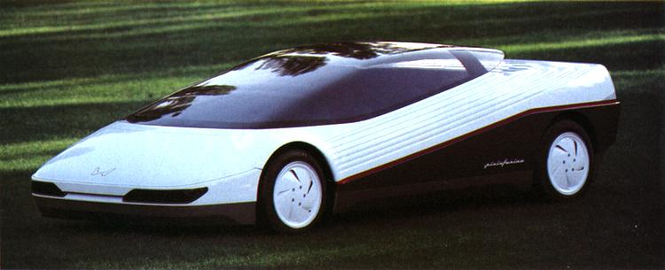 Den Pininfarina-ritade HP-X från 1984 som dock aldrig blev producerad.  Bild: Honda