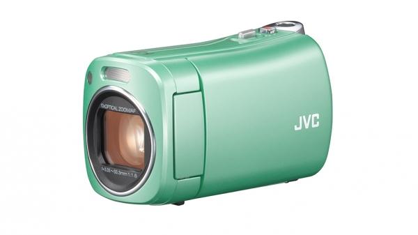 Pistagegrön, liten, lätt och dessutom ett bakteriefrånstötande ytskikt.. Speciellt framtagen kamera för unga mödrar.
