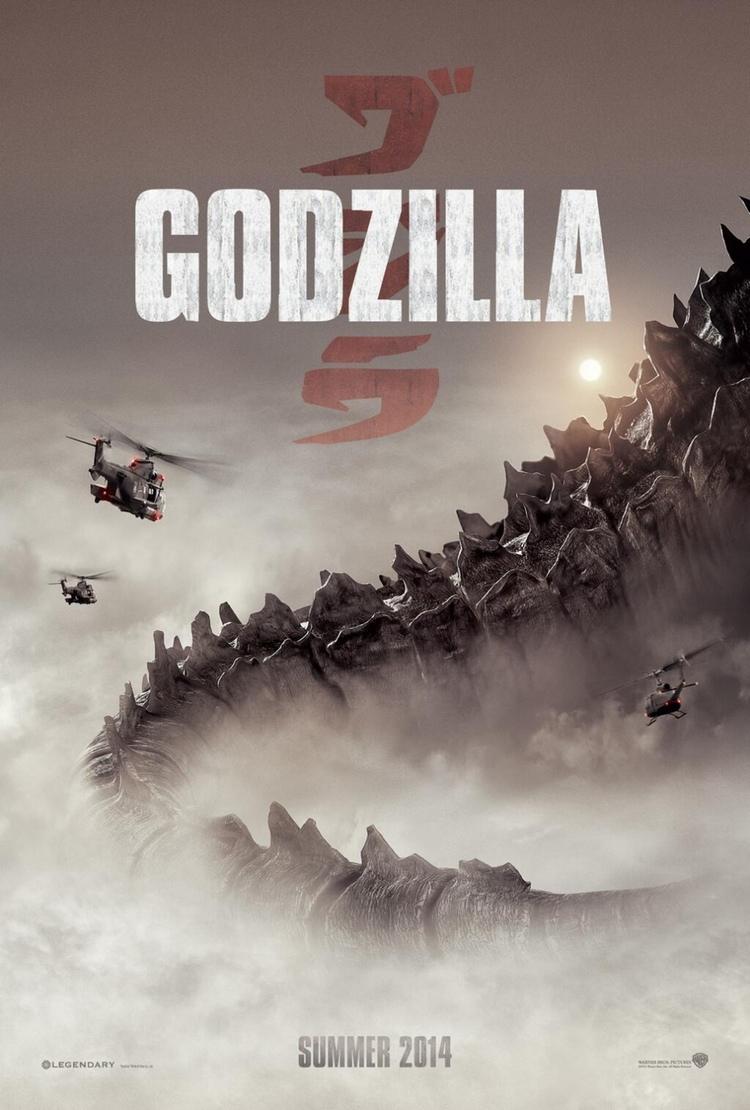 Till sommaren blir det premiär för den 30:e Godzilla-filmen. Värre långkörare än James Bond!  Affisch: Warner Bros Pictures