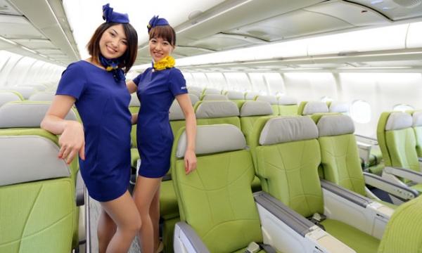 Kort-kort i kabinen orsakar rabalder i japansk media..