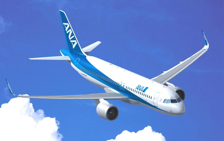 ANA lägger stororder både till Boeing och Airbus - tecken på stor framtidstro.  Bild: All Nippon Airways