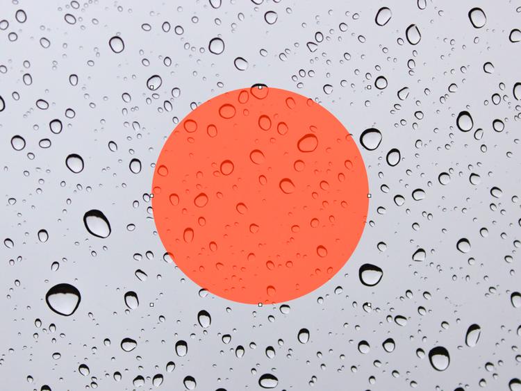 Större delen av juni är det gråmulet och lite regnigt i Japan.. är det regnperiod så är det.
