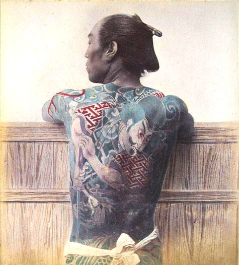 Ett konstverk och en statussymbol, men framför allt bland Japans kriminella element.
