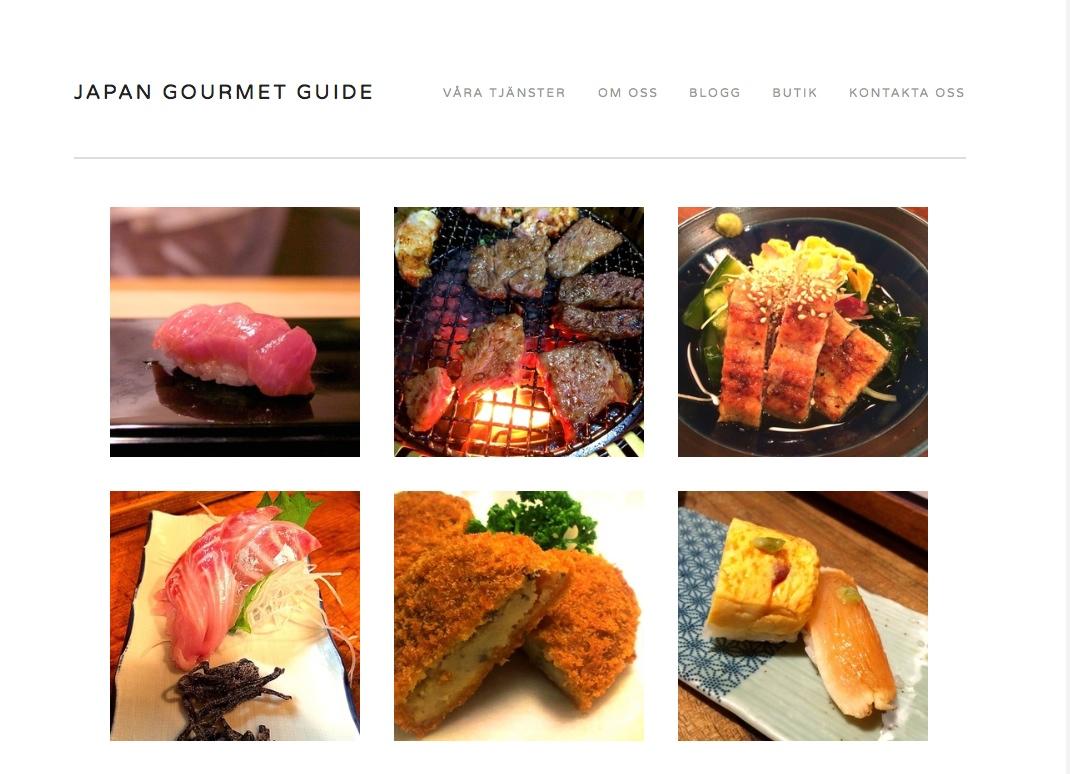 Japanbloggens nya systersida heter Japan Gourmet Guide och handlar enbart om mat, dryck och krogkultur.
