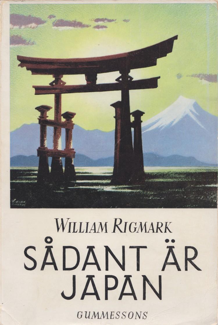 En gammal klassiker på svenska om Japan från tidigt 50-tal (tack Harriet!).