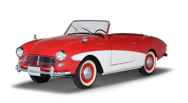 Första Nissan Fairlady lanserades 1959  Alla foton: Nissan Motors eller Public Domain