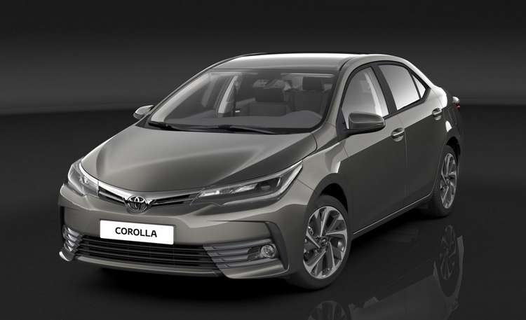 Dagens Corolla följer i grunden ursprungstemat: prisvärd, lättkörd, komfortabel. Den har t o m vissa proportioner som påminner om den första modellen.  Foto: Toyota Motors