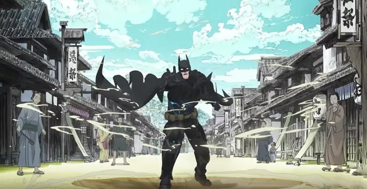 Batman finner sig plötsligt i medeltida Japan i denna nya anime-film - Batman Ninja.