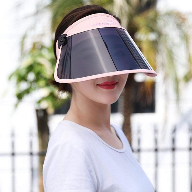 Det ser ut som något taget ur en billig science-fiction-film, men det är istället ett så kallat solvisir som ska skydda den japanska damens ansikte när hon är ute och cyklar.  Foto: Yanshop1