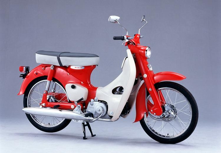 Honda Super Cub 1962....  Foto: Honda Motors