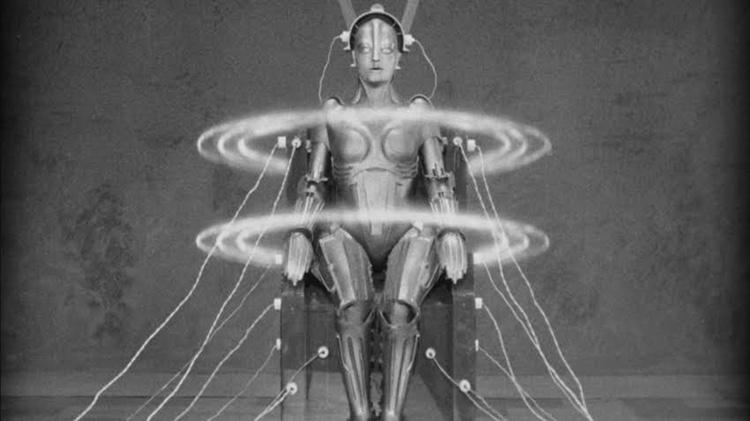 Robot från Fritz Langs klassiker Metropolis från 1927.