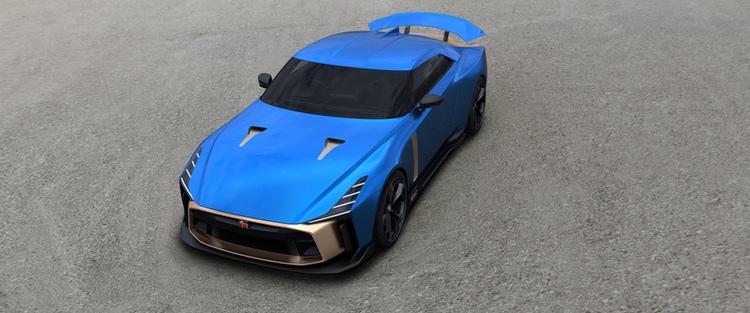 Nissan GT-R50 - med råge den dyraste bilen från ett japanskt märke.  Foto: Nissan/ItalDesign