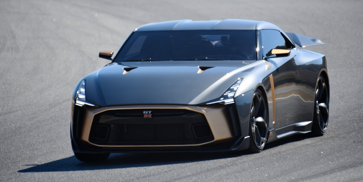 Snygg även i verkligheten..  Foto: Nissan