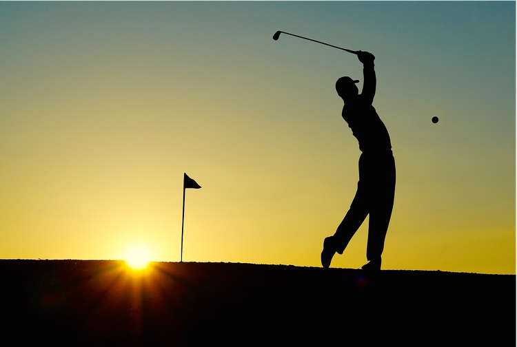 Japan har många golfbanor som dessutom ofta är mycket välgjorda, mycket välskötta och vackra.  Foto: Public Domain
