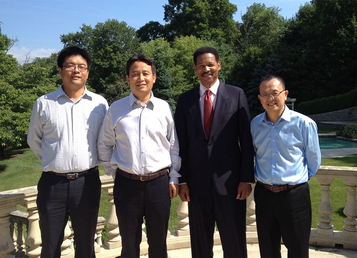 Meeting in connecticut with Wu Yuk Shingdeveloper of Richmond park in beijing china