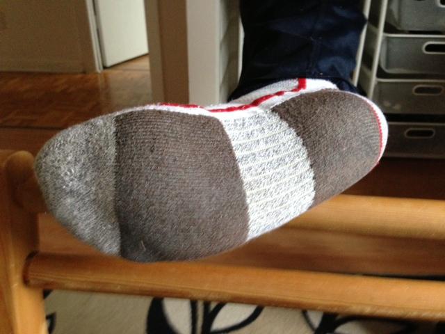 Ahh new socks....