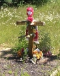 Sorry for the blurriness.  This is actually a pretty damned moving thing to see at the side of the road.