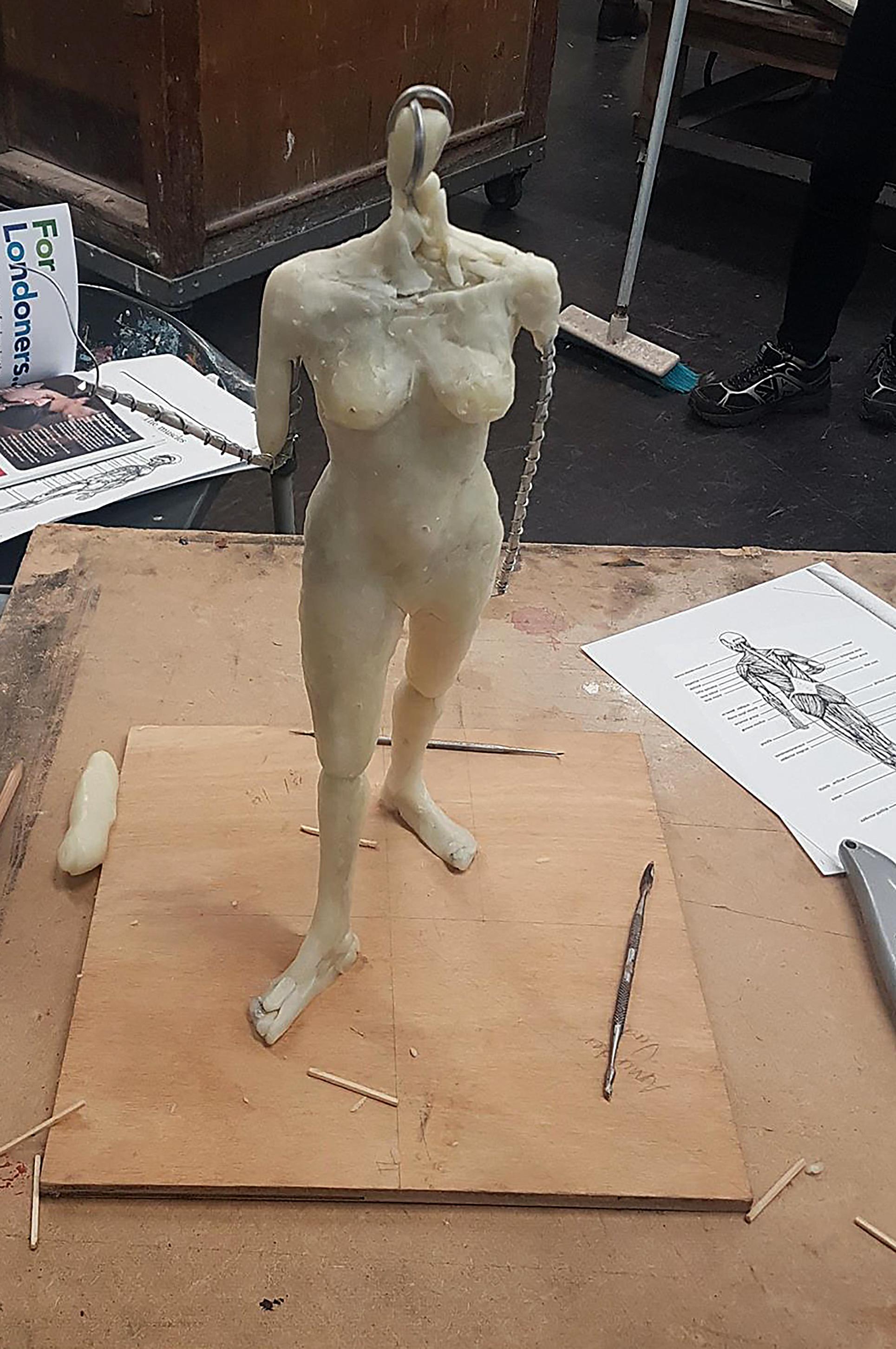 WAX sculpture aminder.jpg