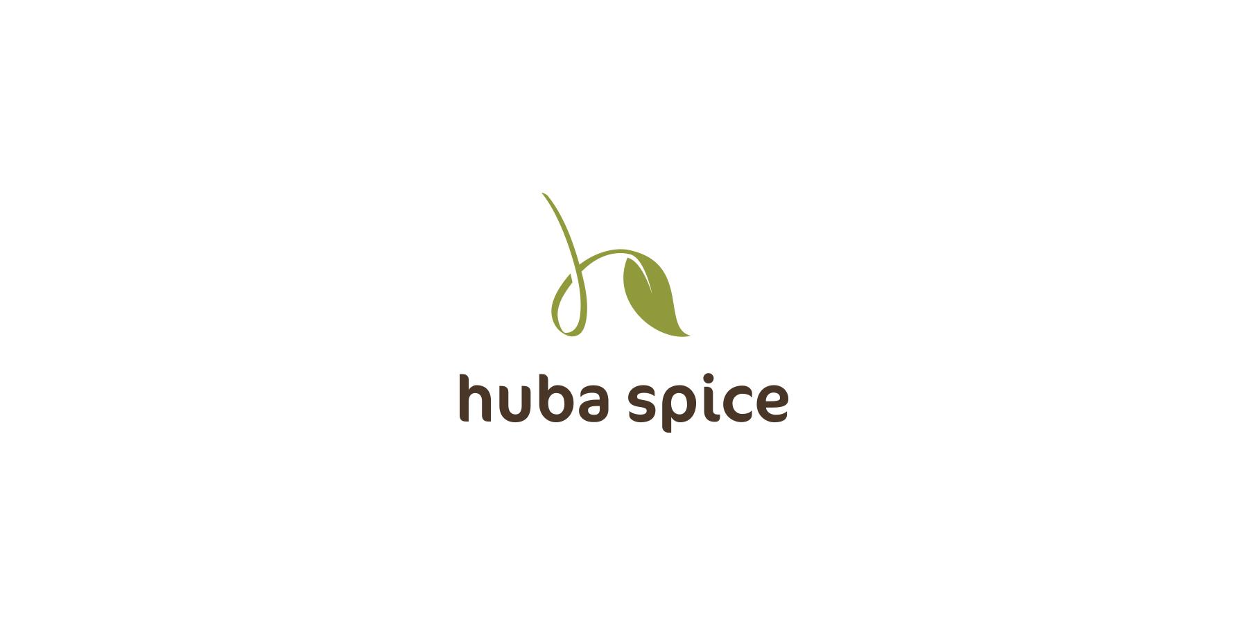 huba-spice-logo-design-01