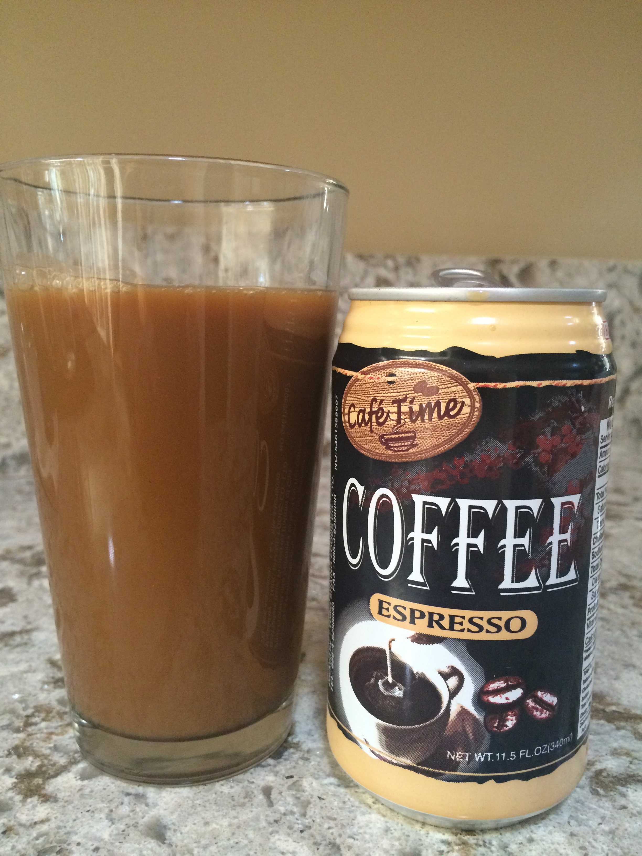 227e833230c2 Canned Coffee 18 - Café Time Espresso — The Search For The Perfect Cup